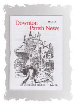 Downton Parish News magazine monthly 60p